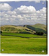 Hope Valley From Winnats Head Acrylic Print