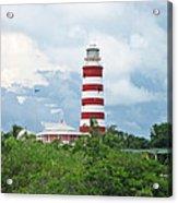 Hopetown Lighthouse Acrylic Print