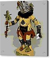 Hopi Dancer Acrylic Print