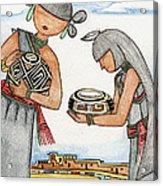 Hopi Manas I Acrylic Print