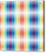 Horizontal Lights Acrylic Print