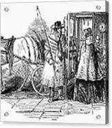 Horse Carriage, 1847 Acrylic Print