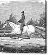 Horse Racing, 1851 Acrylic Print