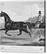 Horse Racing, C1850 Acrylic Print