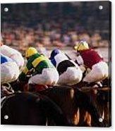 Horse Racing, Phoenix Park, Dublin Acrylic Print