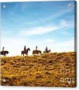 Horseback Riding Acrylic Print