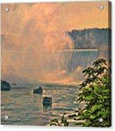 Horseshoe Falls Canadian Niagara Falls Acrylic Print