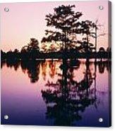 Horseshoe Lake At Dusk Acrylic Print