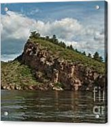 Horsetooth Reservoir View Toward Inlet Bay Acrylic Print