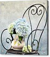 Hortensia Flowers Acrylic Print