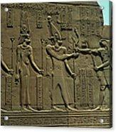 Horus Donant El BastÓ Del Poder Al FaraÓ Acrylic Print