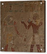 Horus Is Shown Receiving Gifts Acrylic Print