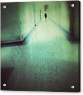 Hospital Hallway Acrylic Print