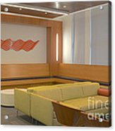 Hospital Waiting Room Acrylic Print