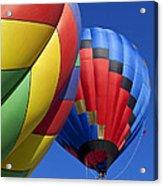 Hot Air Ballons Acrylic Print