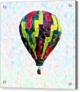 Hot-air-balloon Acrylic Print