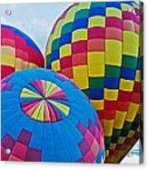 Hot Air Balloons Panorama Acrylic Print