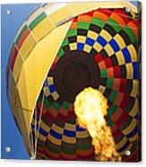Hot Air Acrylic Print by Rick Berk