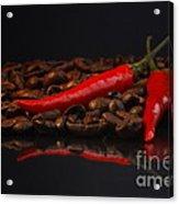 Hot Coffee Acrylic Print by Tanja Riedel