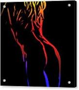 Hot Curves Acrylic Print