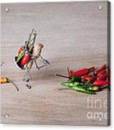 Hot Delivery 02 Acrylic Print by Nailia Schwarz