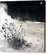 Hot Mud Acrylic Print