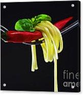 Hot Pasta  Acrylic Print