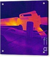 Hot Rifle Acrylic Print