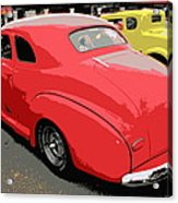 Hot Rod Car Show Acrylic Print