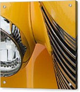 Hot Rod Chevy Acrylic Print by Steven Milner