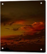 Hot Summer Night Sky Acrylic Print