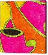 Hot Tea... Cold Juice Acrylic Print
