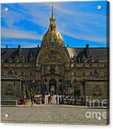 Hotel Des Invalides Acrylic Print
