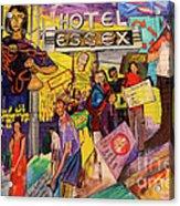 Hotel Essex  Acrylic Print
