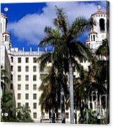 Hotel Nacional De Cuba Acrylic Print