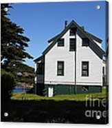 House At Point Reyes Calfornia . 7d16125 Acrylic Print