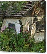 House For Sale Acrylic Print