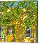 House In The Barrio Acrylic Print
