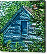House In The Woods Art Acrylic Print