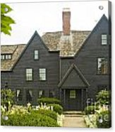 House Of 7 Gables Acrylic Print
