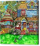 House Of Cats Acrylic Print