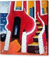 House Of Slaves - Goree Acrylic Print