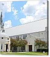 House Of Worship Acrylic Print