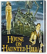 House On Haunted Hill, Alternate Poster Acrylic Print