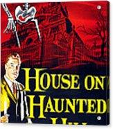 House On Haunted Hill, Bottom Left Acrylic Print by Everett