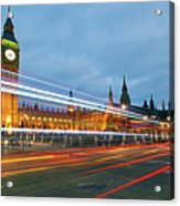 Houses Of Parliament Acrylic Print by Ray Wise