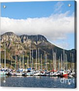 Hout Bay Harbour Acrylic Print