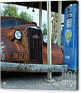 How Long Have You Been Waiting For Gas Acrylic Print