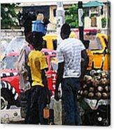 How Market Lagos Acrylic Print