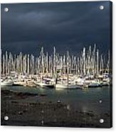 Howth Yacht Club Marina, Co Dublin Acrylic Print